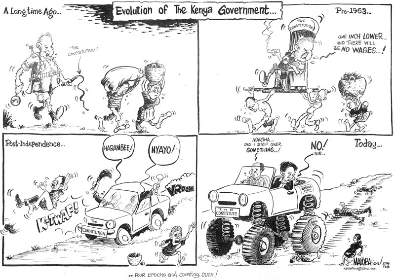maloba-the evolution of the kenyan gov