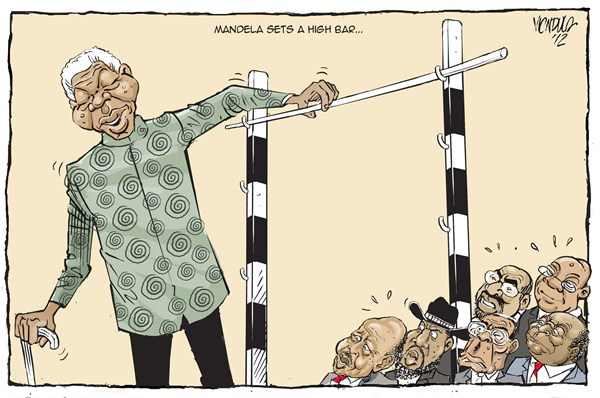 mandela sets a high bar