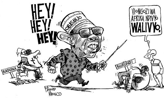 masoud kipanya - Obasanjo the Pacifier