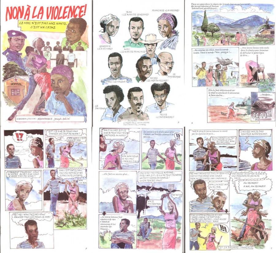 nduwimana-non a la violence