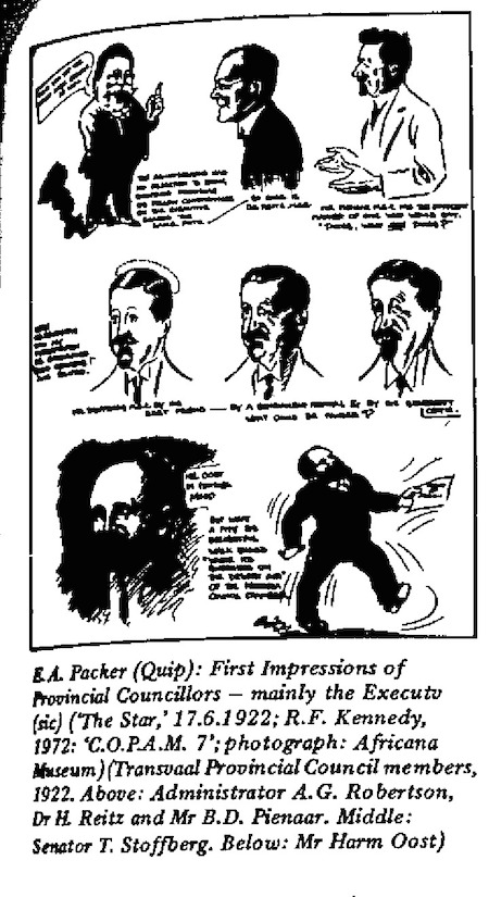 E.A. Packer- First Impressions cartoon