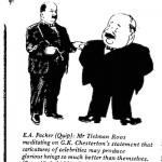 E.A. Packer- Tielman Roos cartoon