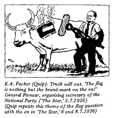 E.A. Packer- Truth Will Out cartoon