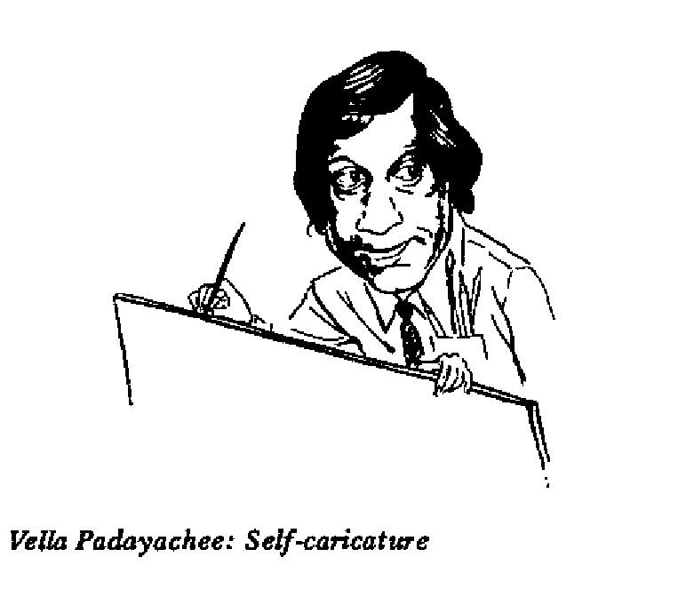 Vella Padayachee- Self Caricature
