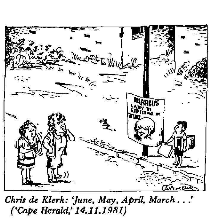 Chris de Klerk - June, May, April, March