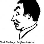 Neil DuBrey - Self Caricature