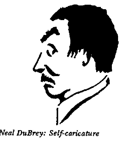 Neil DuBrey - Self Caricature