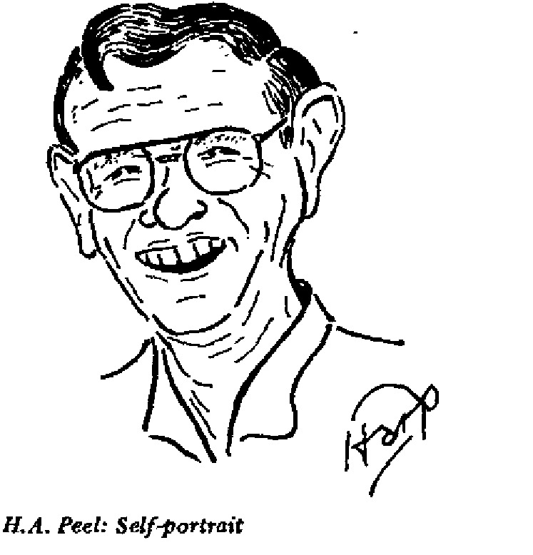 H.A. Peel - Self Portrait