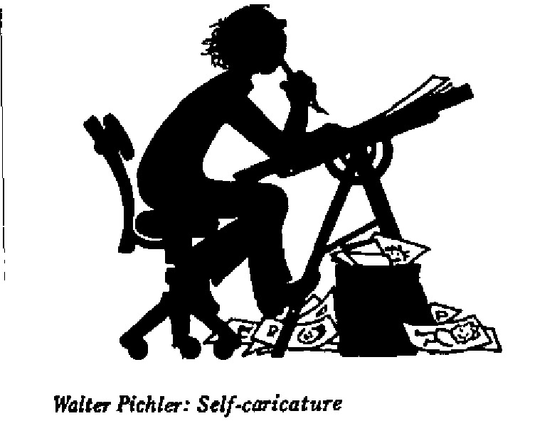 Walter Pichler - Self Caricature