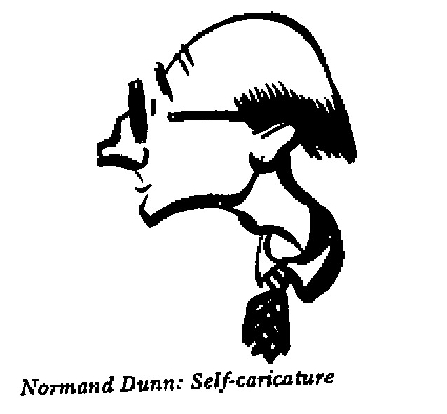 Normand Dunn - Self Caricature