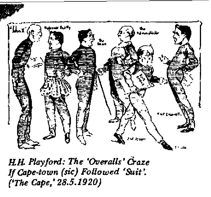 H.H. Playford - The 'Overalls' Craze