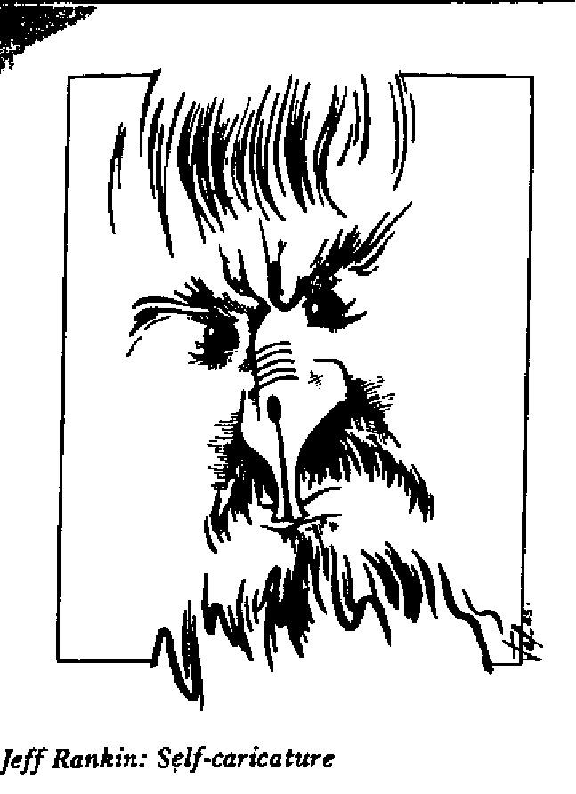 Jeff Rankin - Self Caricaure