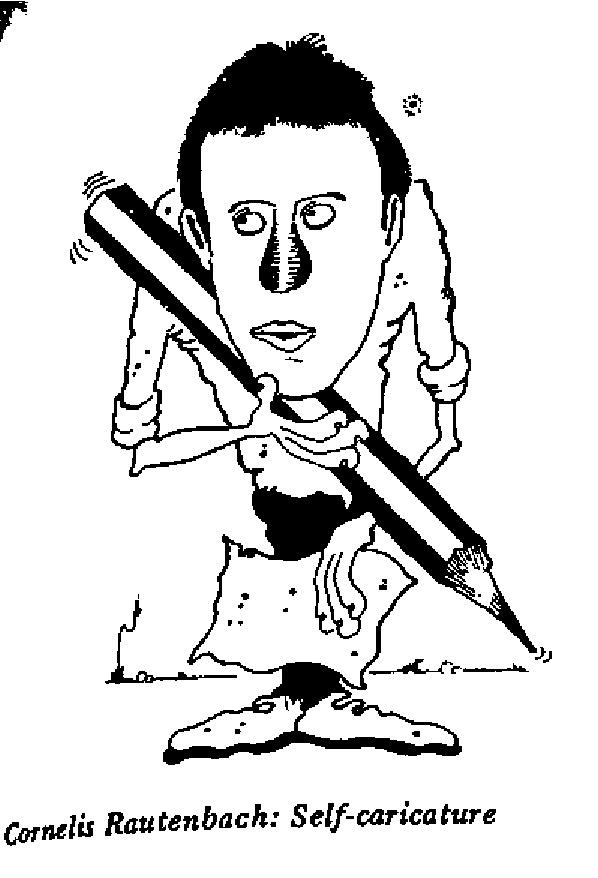 Cornelis Rautenbach - Self Caricature