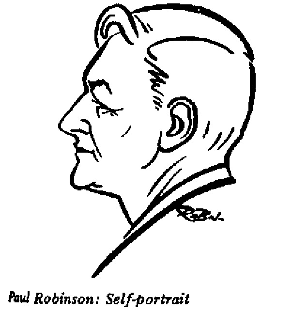 Paul Robinson - Self Portrait