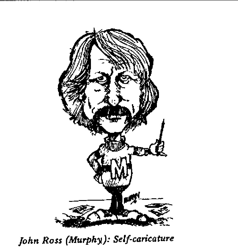 John Ross - Self Caricature