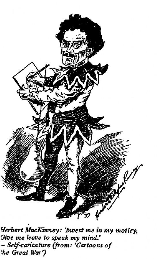 Herbert MacKinney - Self-caricature
