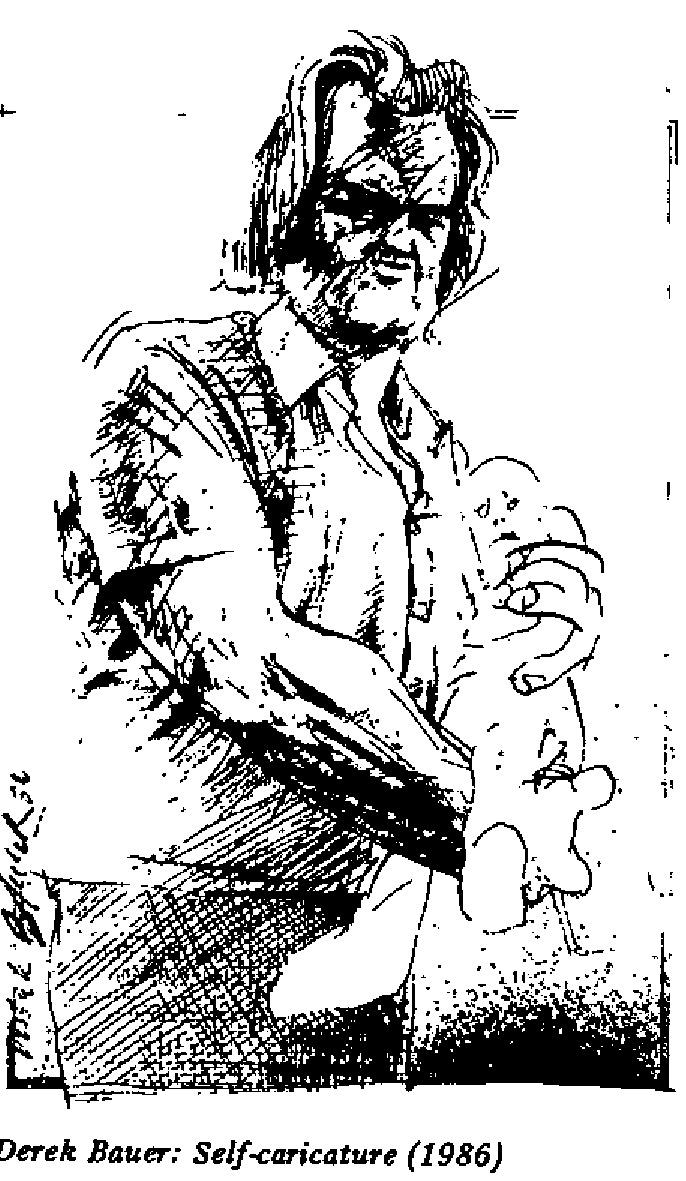 Derek Bauer - Self Caricature