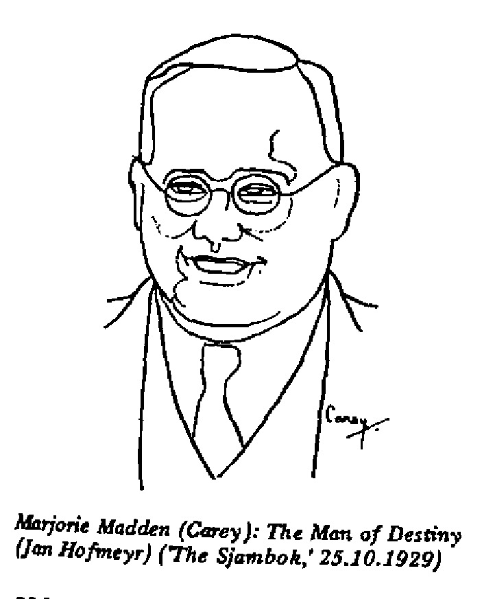 Marjorie Madden - The Man of Destiny