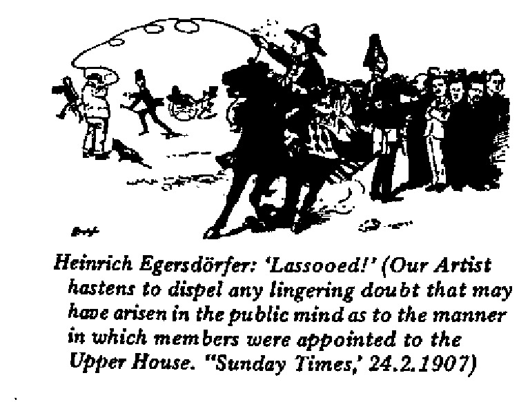 Heinrich Egersdörfer - Lassooed