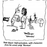 Peter Bayer - Self Caricature