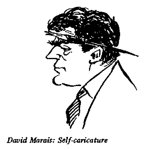Charl Marais - Self Caricature 3