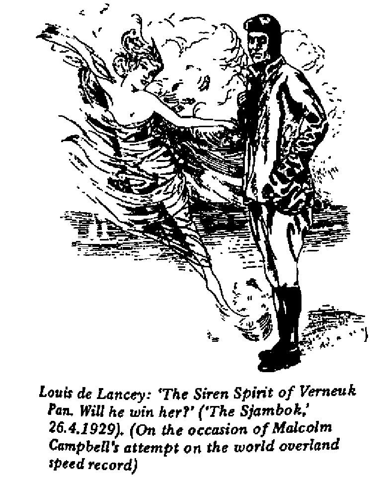 Louis de Lancey - The Siren Spirit of Verneuk Pan