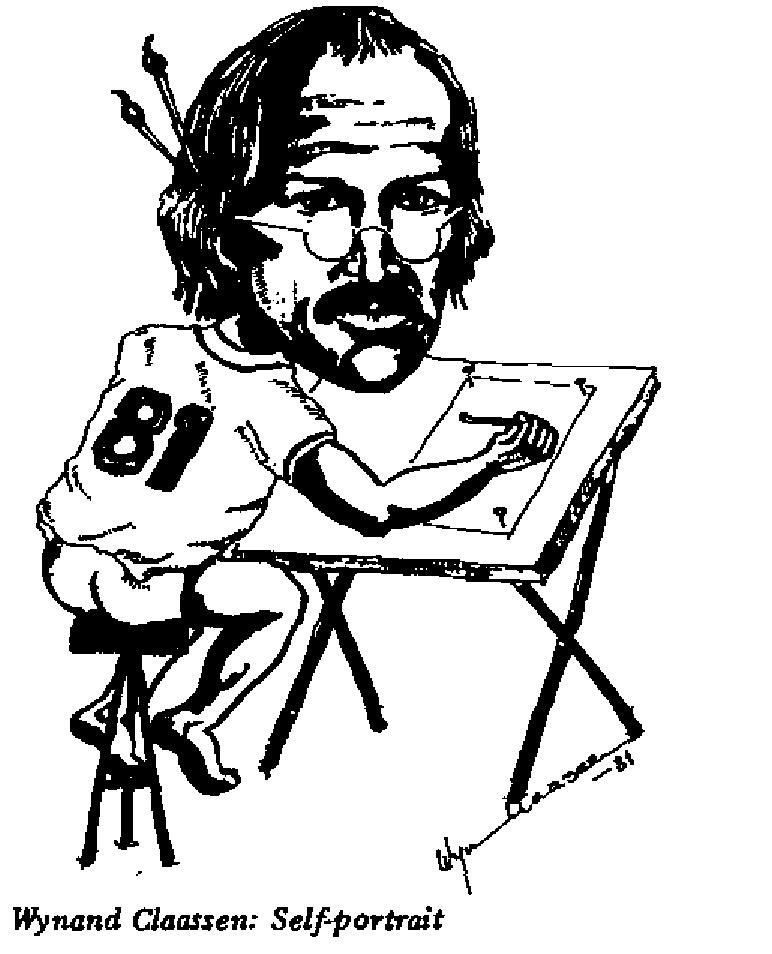 Wynand Claassen - Self Portrait
