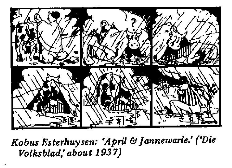 Kobus Esterhuysen - April and Jannewarie