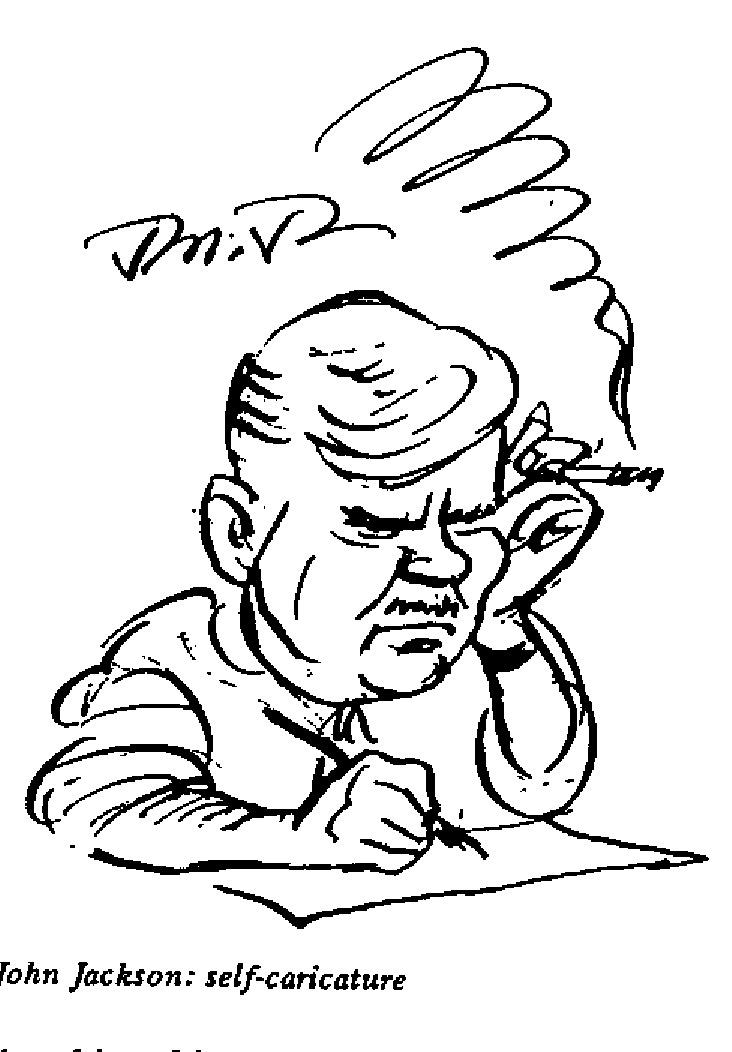 John Jackson - Self Caricature