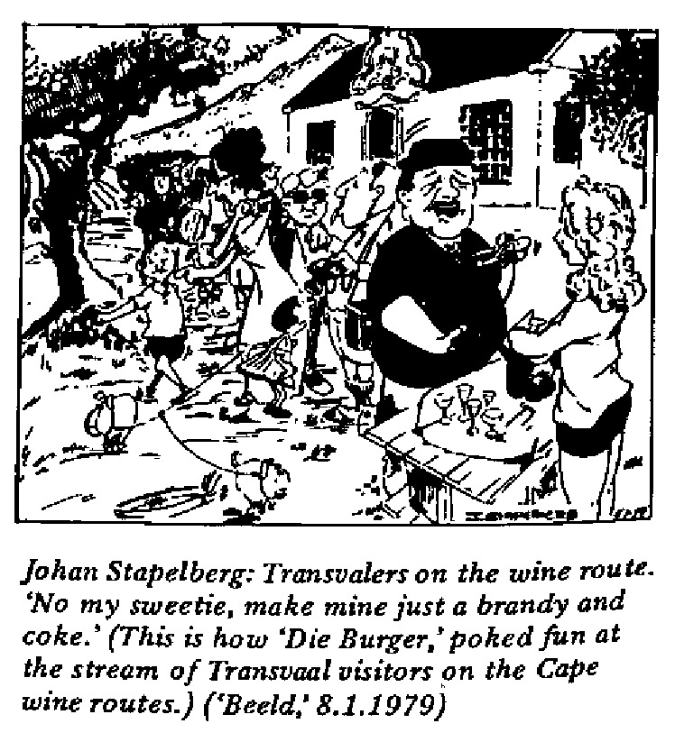 Johan Stapelberg - Transvalers on the Wine Route