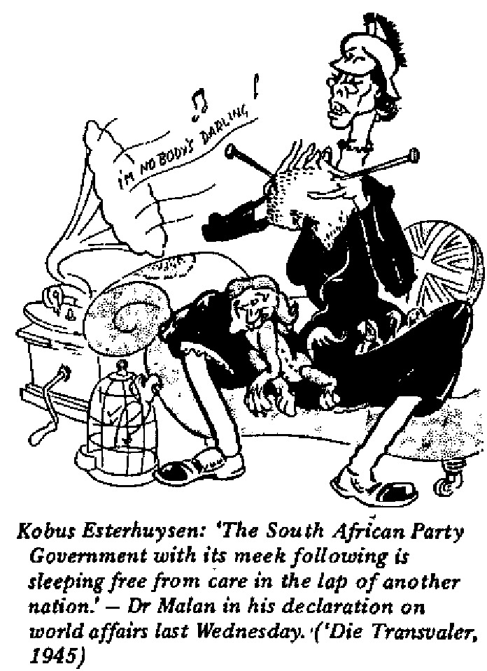 Kobus Esterhuysen - The South African Government