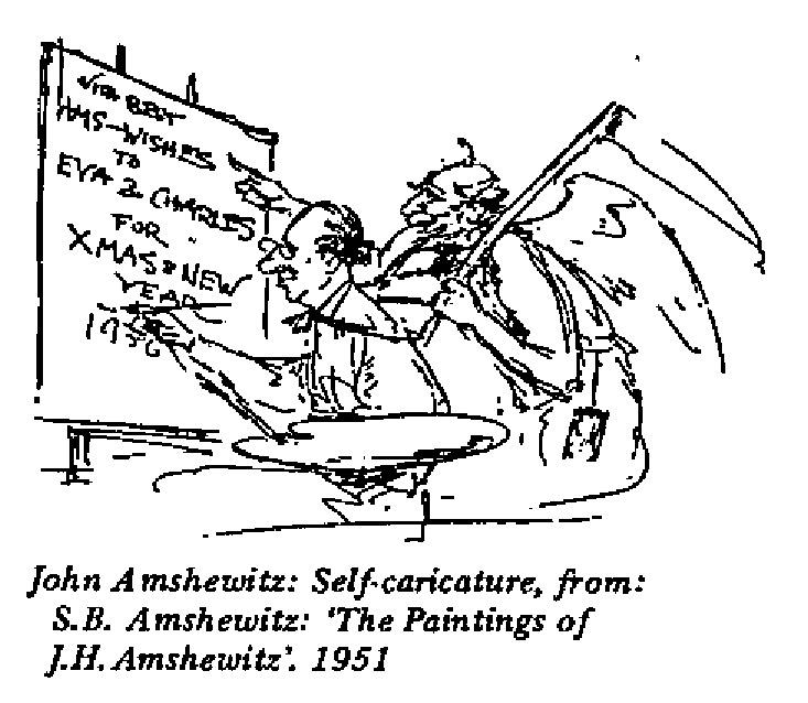 John Amshewitz - Self Caricature