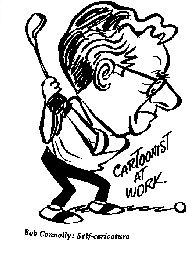 Bob Connolly - Self Caricature