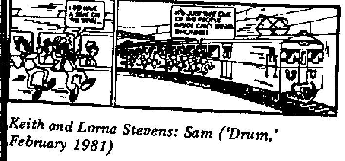 Keith and Lorna Stevens - Sam
