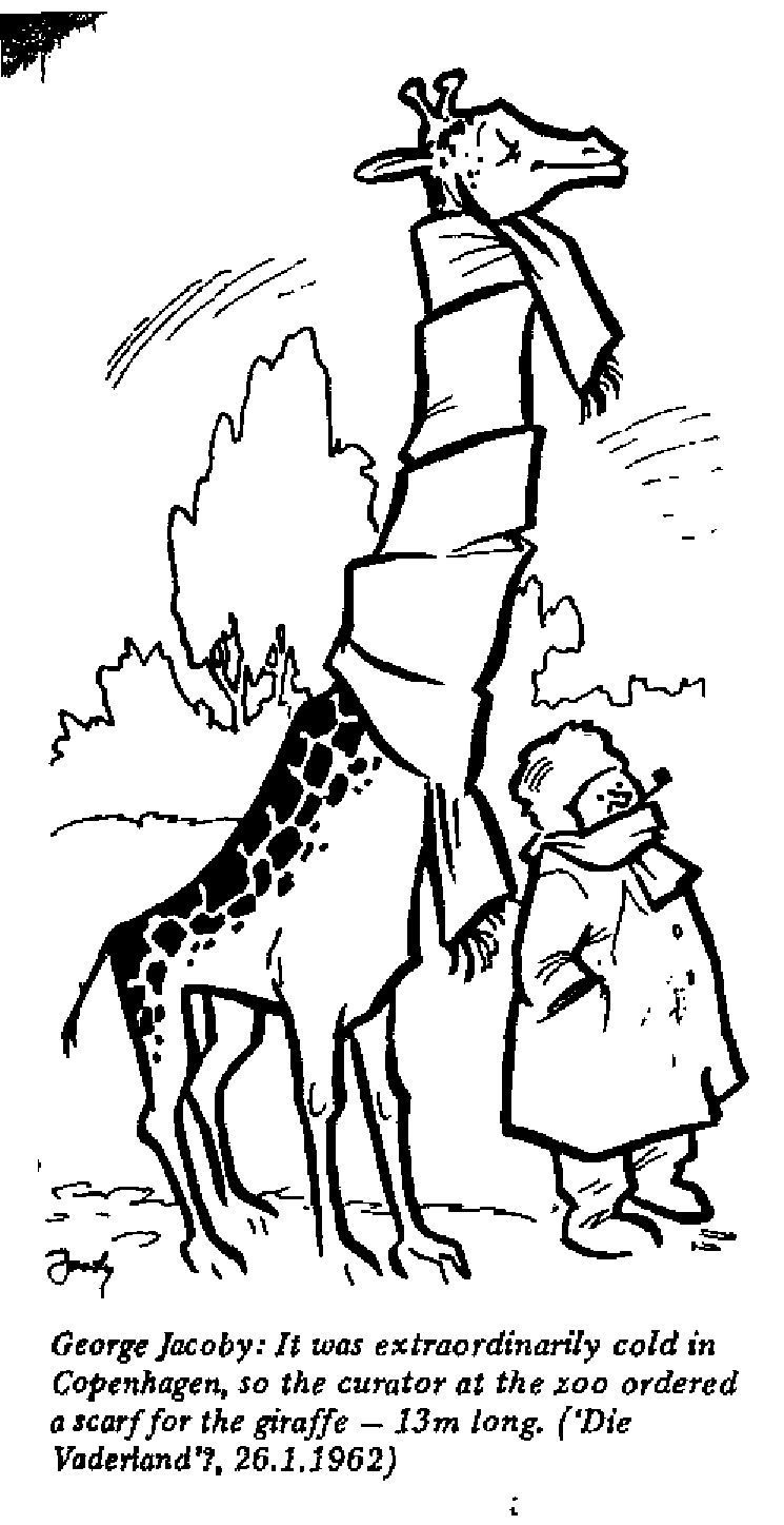 George Jacoby - Scarf for the Giraffe