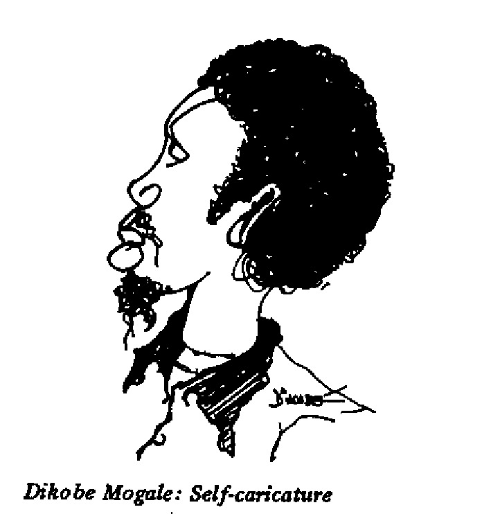 Mogale - Self-Caricature