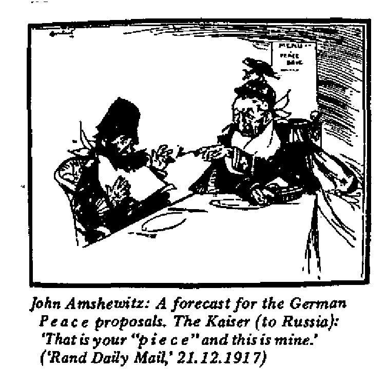 John Amshewitz - Forecast for German Peace Proposals