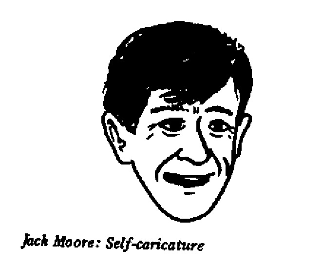 Jack Moore - Self-caricature