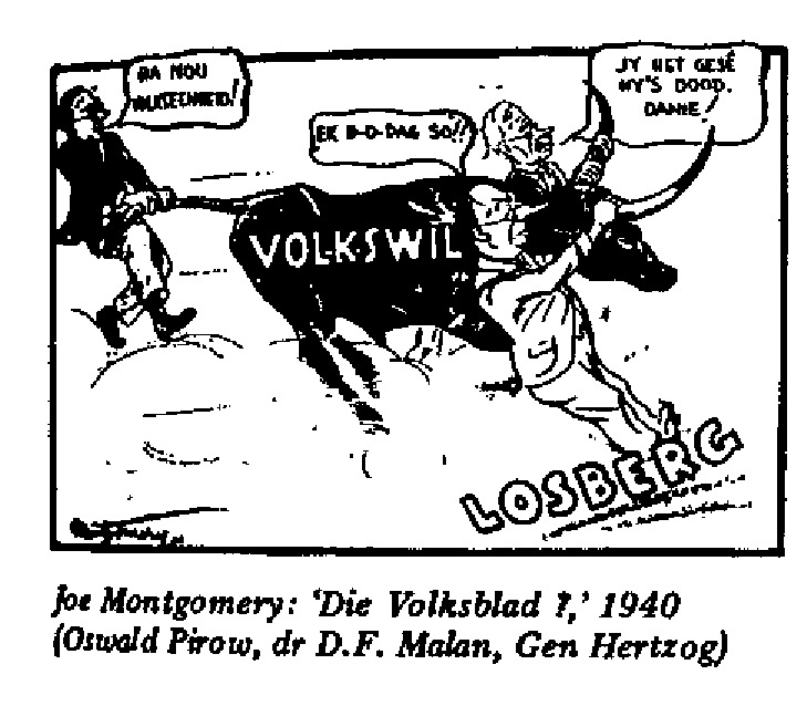Joe Montgomery - Die Volksblad