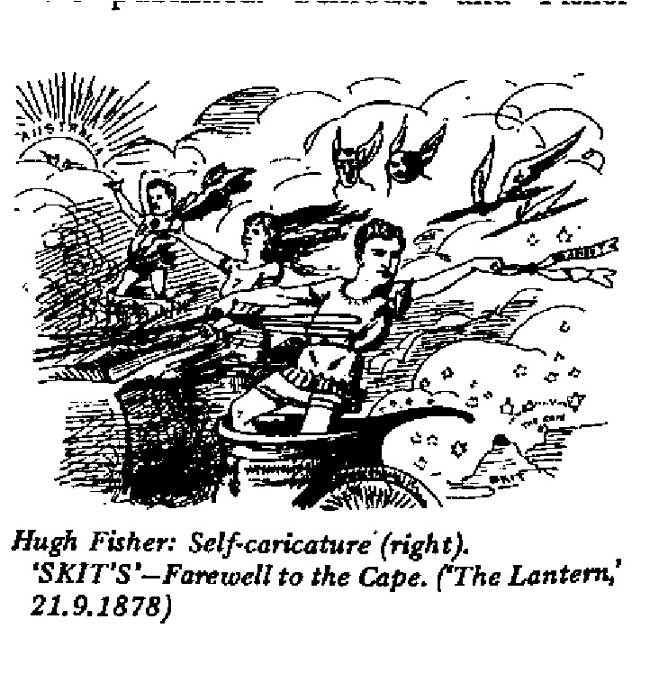 Hugh Fisher - Self Caricature