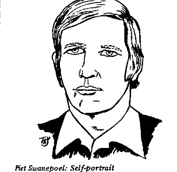 Piet Swanepoel - Self-portrait