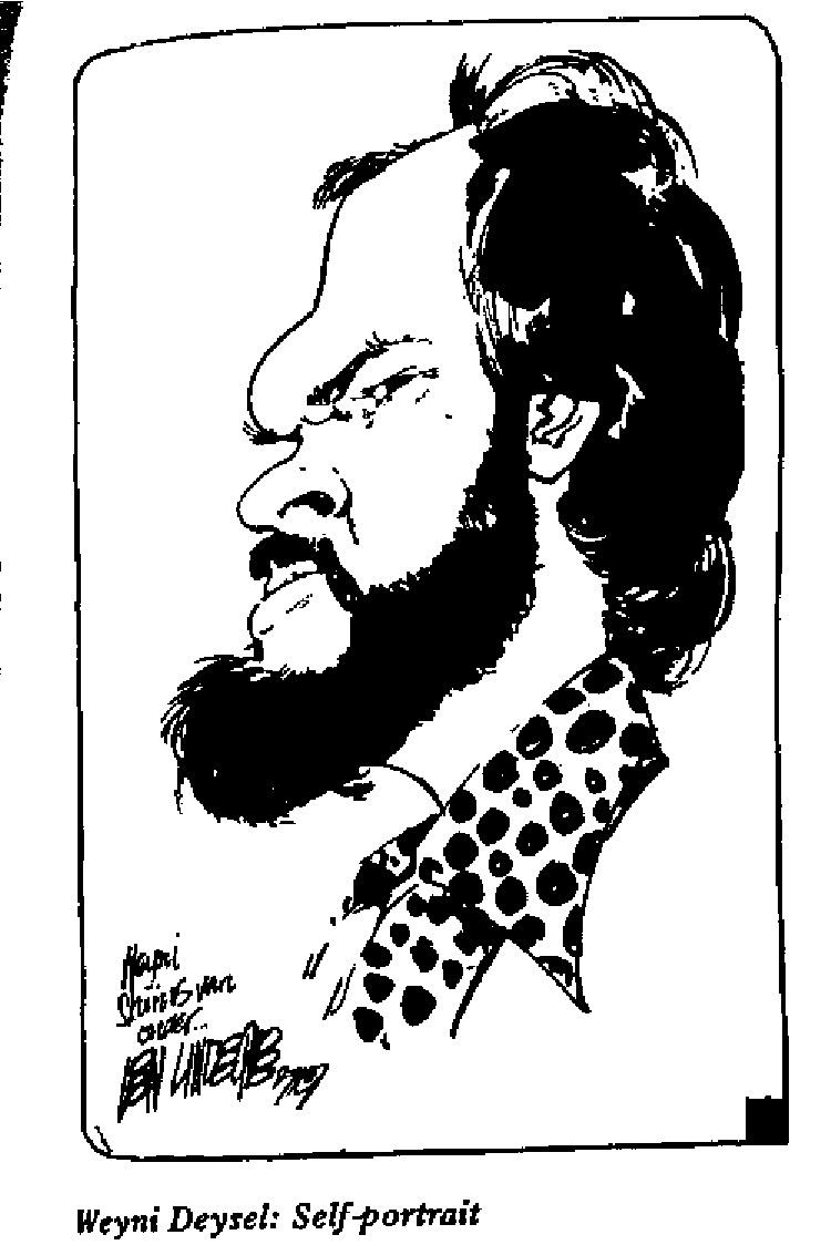 Weyni Deysel - Self Portrait