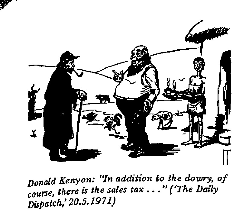 Donald Kenyon - Sales Tax
