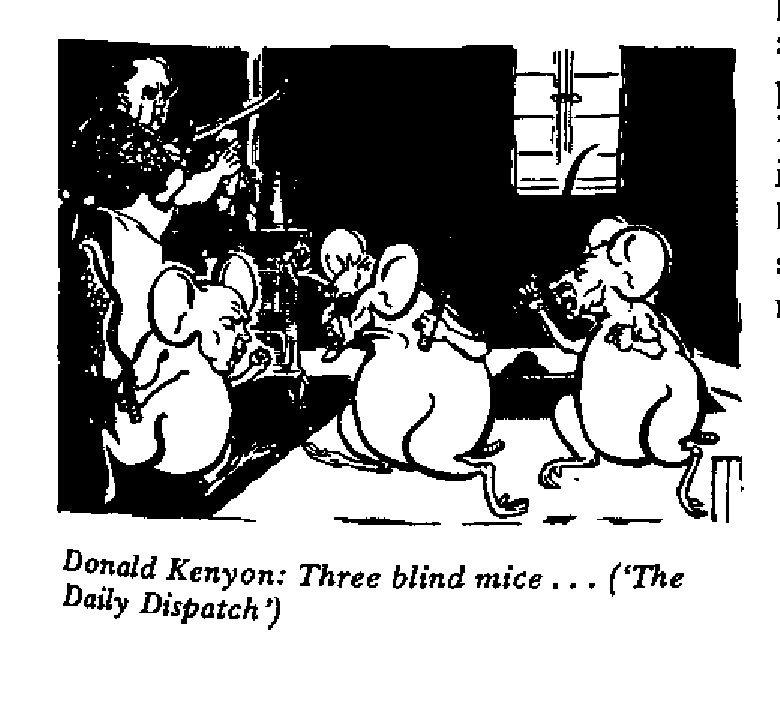 Donald Kenyon - Three Blind Mice