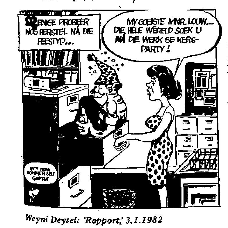 Weyni Deysel - Rapport