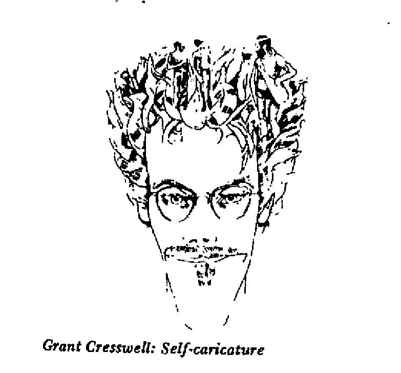 Grant Cresswell - Self Caricature