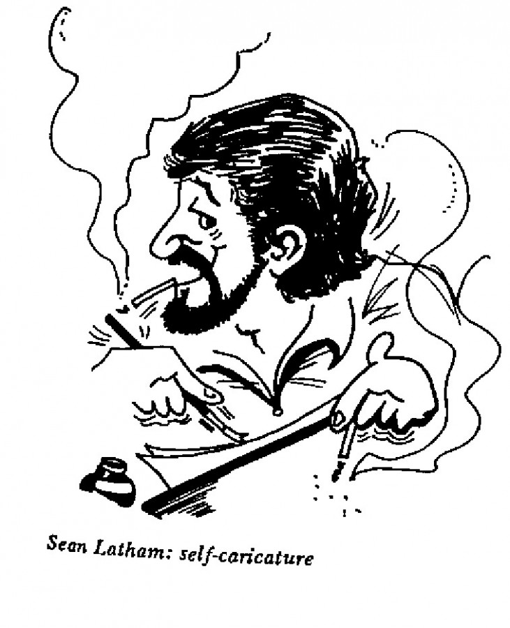 Sean Latham - Self-Caricature