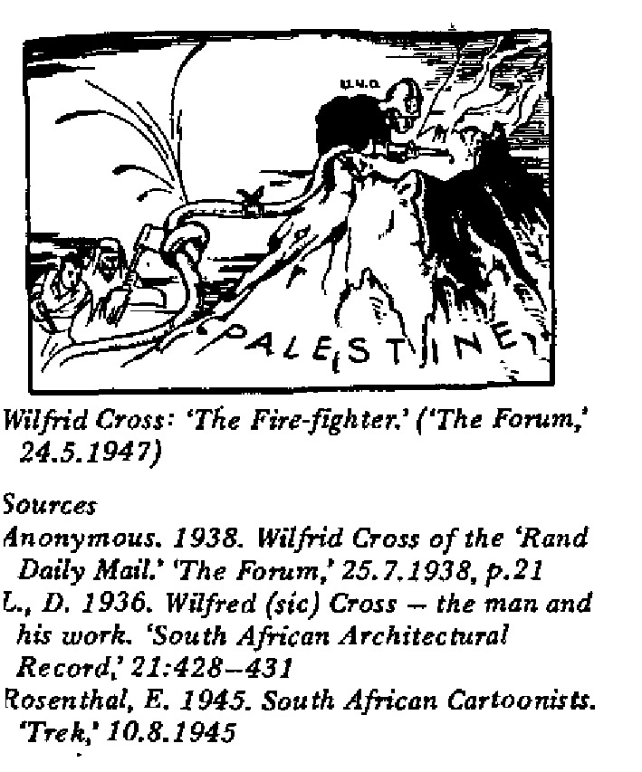 Wilfrid Cross - The Fire-Fighter