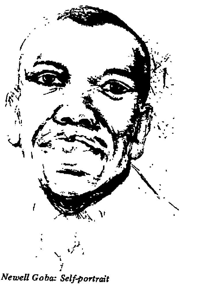 Newell Goba - Self Portrait