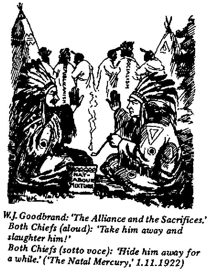 W.J. Goodbrand - The Alliance and the Sacrifices